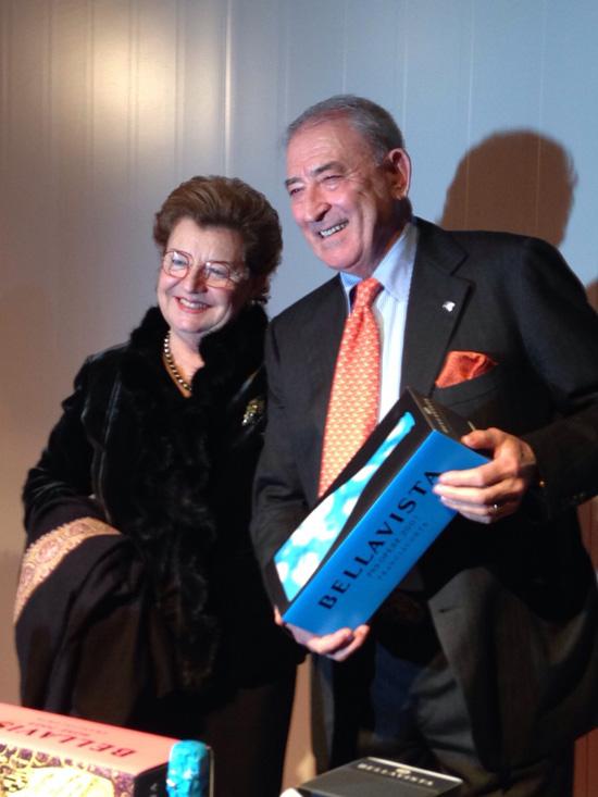 Mariella e Vittorio Moretti (©foto Sandra Longinotti)
