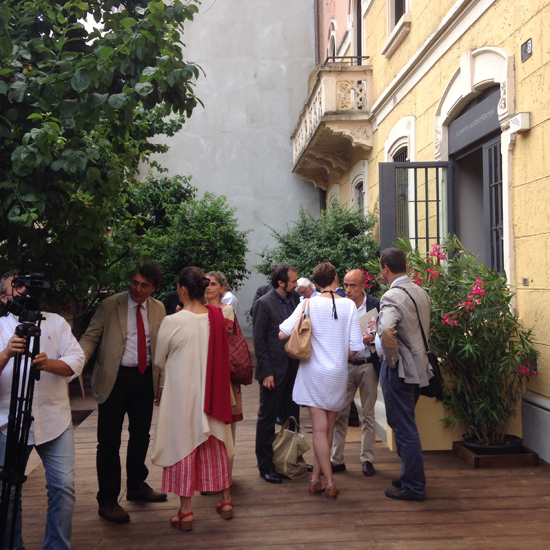 Accademia Gualtiero Marchesi, dehors (©Sandra Longinotti)