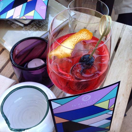 Patsy Spritzer il cocktail di Federico Morosi ispirato a Patsy Graham - Il Pellicano | ©Sandra Longinotti