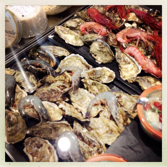 Caffetteria Torinese, ostriche e frutti di mare| ©Sandra Longinotti