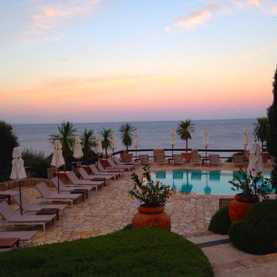 Il Pellicano, la piscina al tramonto | ©Sandra Longinotti