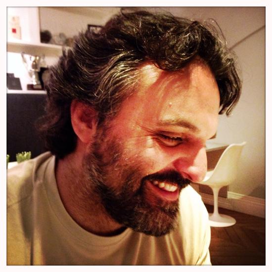 Marco Stabile, chef del ristorante Ora d'Aria a Firenze | ©Sandra Longinotti