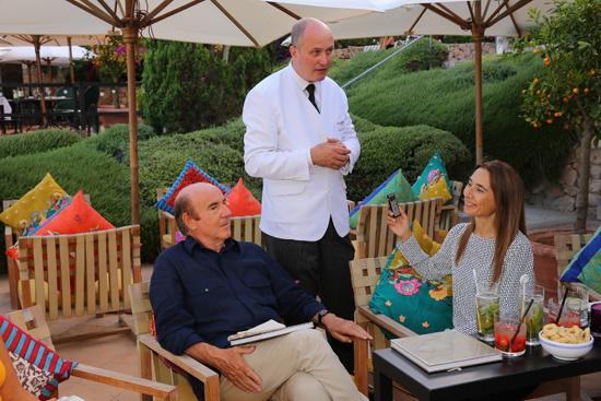 Roberto Sciò, Colin Field ed io al bar de Il Pellicano | ©Il Pellicano