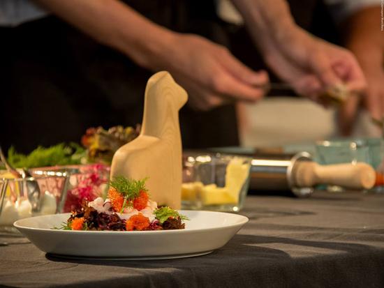 Smørrebrød ai gamberetti | ©foto Courmayeur Mont Blanc