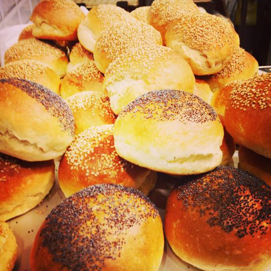 i panini da hamburger di Davide Longoni, Longoni Store | ©Sandra Longinotti