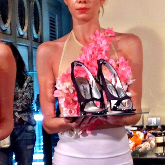 scarpe Night Rose della Collezione Luisa Tratzi P/E 2015   ©Sandra Longinotti