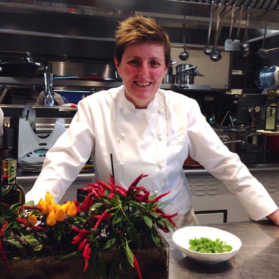 Viviana Varese, ristorante Alice | ©foto Sandra Longinotti