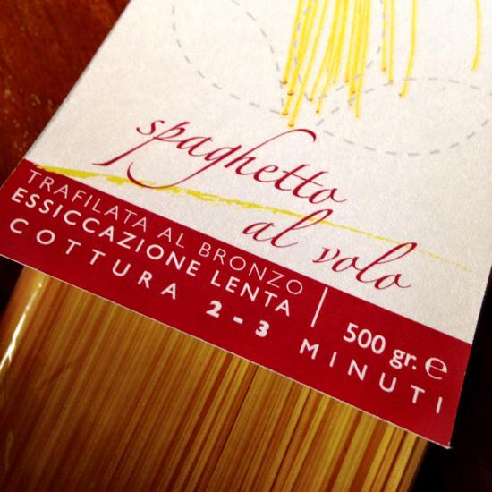 Spaghetto al Volo del Pastificio Verrigni | ©foto Sandra Longinotti