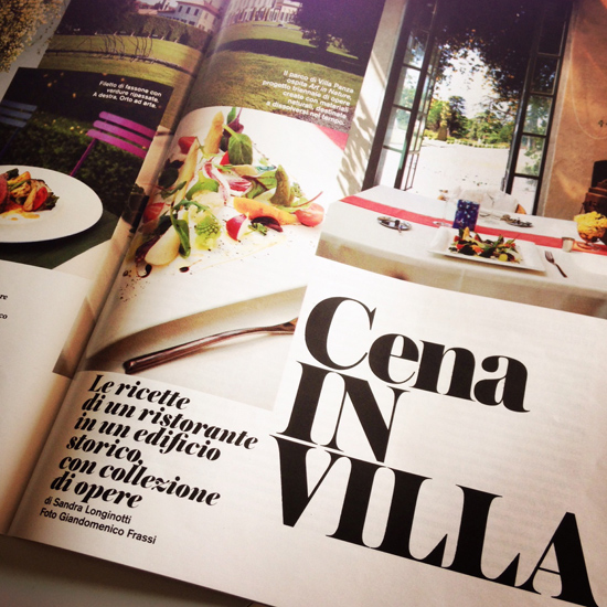 il mio articolo su Aisthesis e il ristorante Luce - D la Repubblica, 7 giugno 2014 | ©foto Sandra Longinotti