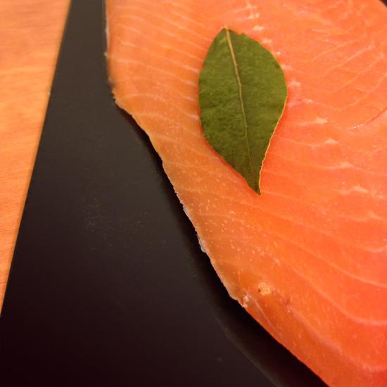 salmone affumicato Upstream | ©foto Sandra Longinotti