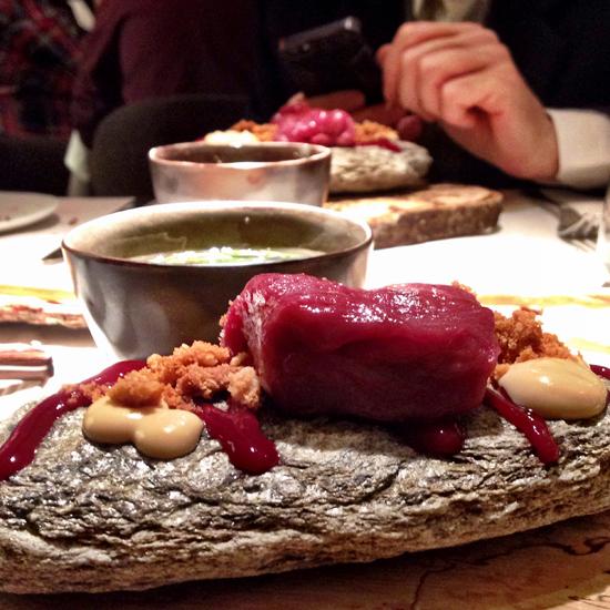 Il Cervo e la sua storia... ristorante Essenza   ©Sandra Longinotti