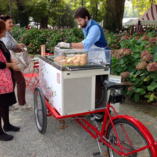 il carrettino dei gelati Monaka | ©Sandra Longinotti
