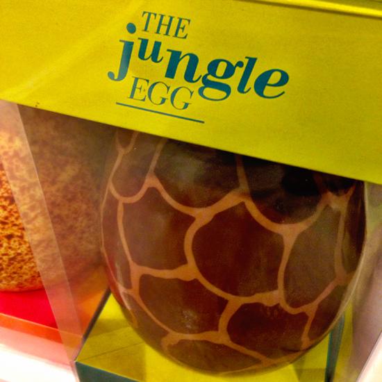 Uovo di cioccolato Jungle, T'A Sentimento Italiano | ©Sandra Longinotti