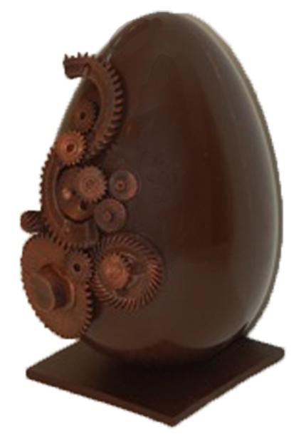 Uovo di cioccolato Pasqua 2015, Pasticceria Cioccolateria Le Gateau