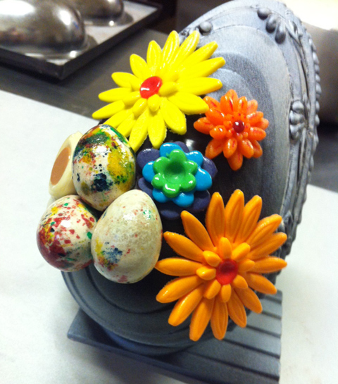 Uovo fiorito, Maghi Infarinati | ©Sandra Longinotti