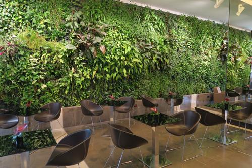 La parete green del Klima Hotel | ©Sandra Longinotti