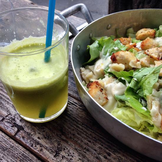 Caesar salad, Anche Ristorante | ©Sandra Longinotti