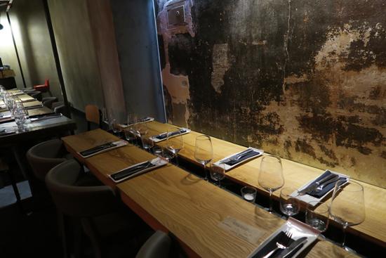 Tavolo sociale all'Anche Ristorante | ©Sandra Longinotti