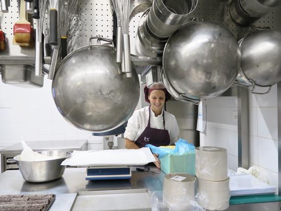 il laboratorio della nuova Pasticceria Ernst Knam | ©Sandra Longinotti