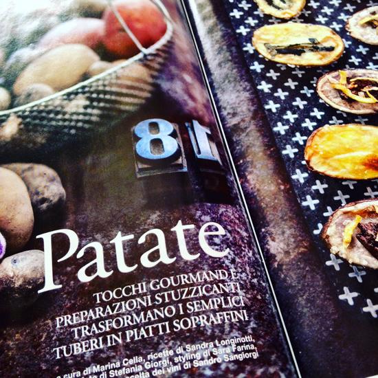 Sale&Pepe novembre 2015 - servizio Patate | ©foto Sandra Longinotti