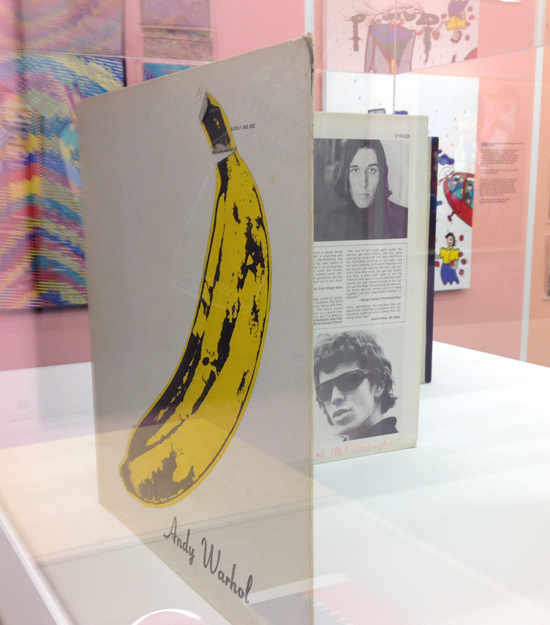 LP Velvet Underground & Nico, cover by Andy Warhol - Absolut Art Collection, Spritmuseum - Stockholm | ©foto Sandra Longinotti