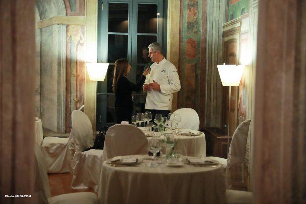 Pietro Leemann mi racconta come ha impostato il suo percorso nel menu della Grand Chefs Experience