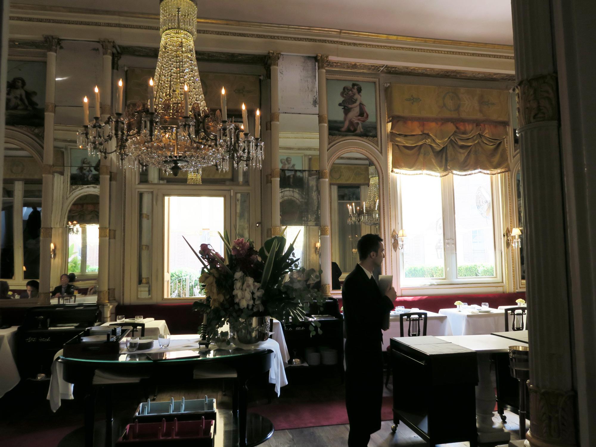 la Sala Risorgimento del ristorante Del Cambio | ©foto Sandra Longinotti