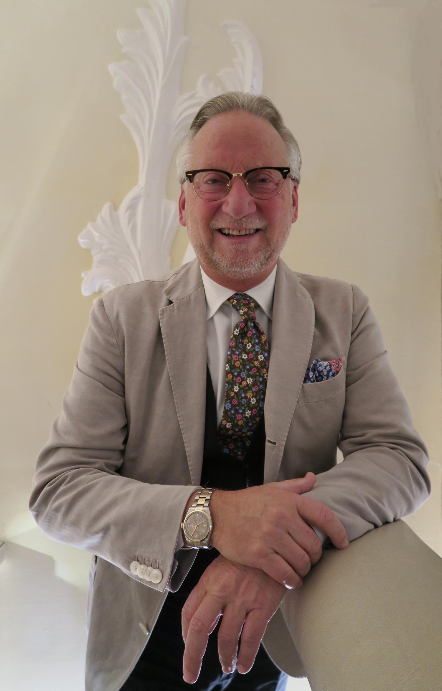 Dany Stauffacher CEO di Sapori Ticino   ©foto Sandra Longinotti