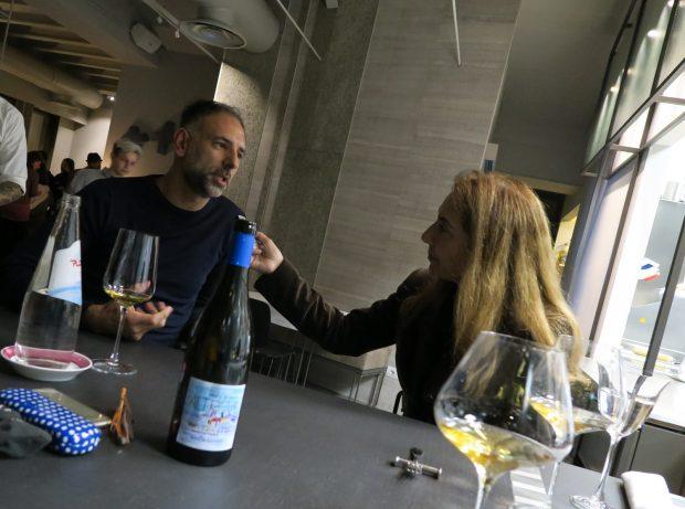 Filippo di Bartola mi spiega la filosofia del suo nuovo ristorante FILIPPO Pietrasanta   ©foto Strutturafine