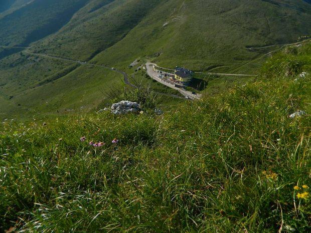 Il Rifugio Graziani visto dall'alto | ©foto Rifugio Graziani