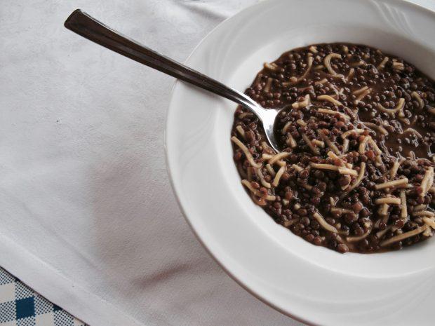 Pasta e lenticchie dell'Agriturismo La Tracerna | ©foto Antonietta Pasqualino di Marineo