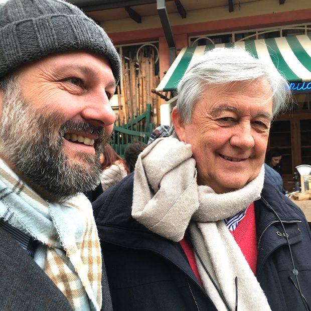 Francesco e Riccardo Barthel a Ortobello 2016   ©foto Sandra Longinotti