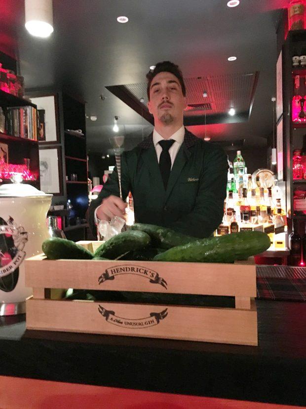 1 Cetriolo vale 1 Gin Tonic: il Cucumber Currency Exchange di Hendrick's Gin | ©foto Sandra Longinotti
