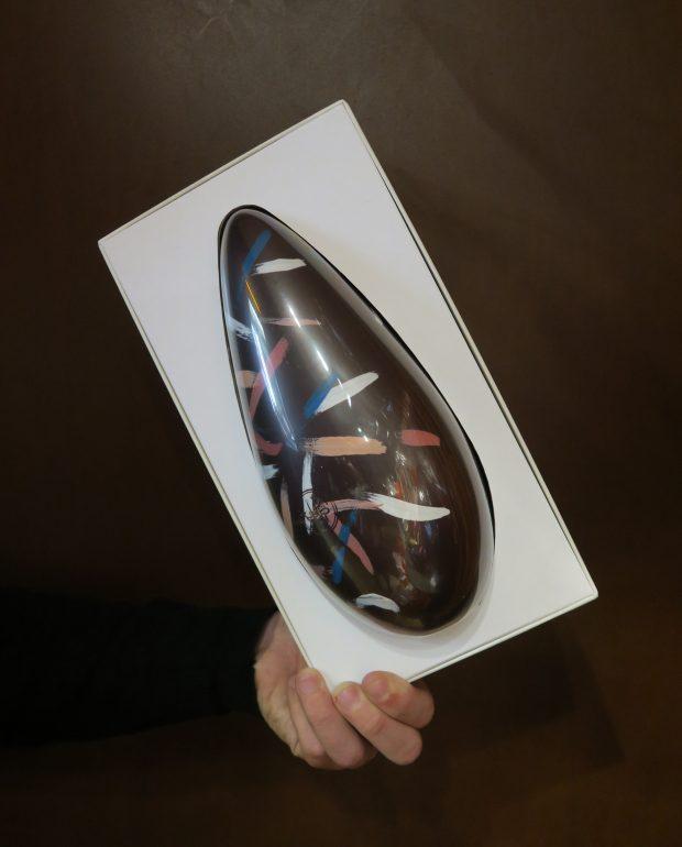la riedizione di n'Uovo di Pasqua di Guido Gobino   ©foto Sandra Longinotti