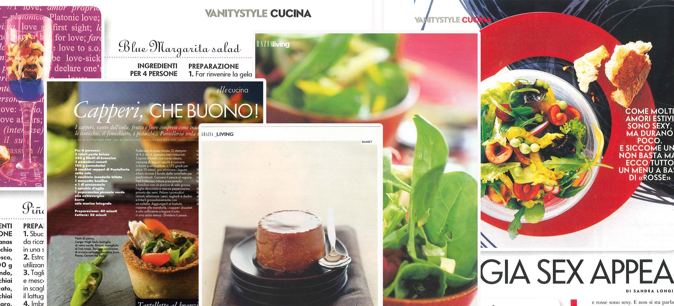 food styling - un'immagine delle mie collaborazioni con le migliori testate italiane - Sandra Longinotti