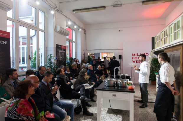 Show cooking alla Milano Food Week | ©F. Borselli