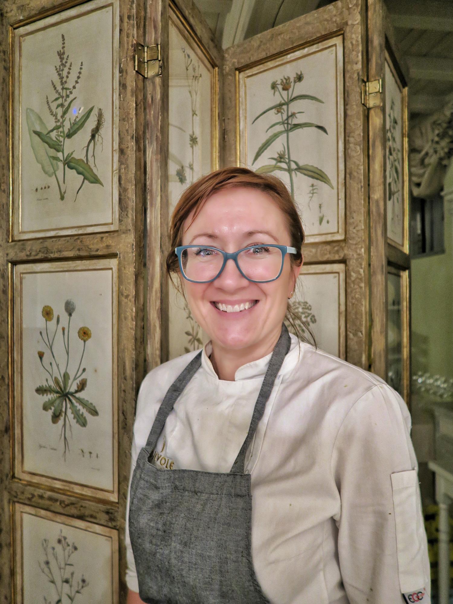 Monika Filipinska, chef del ristorante Novecento a Dievole | ©foto Sandra Longinotti