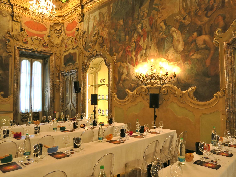 dall'Etna a MIlano. La presentazione di Fragore di Donnafugata a Palazzo Visconti | ©foto Sandra Longinotti