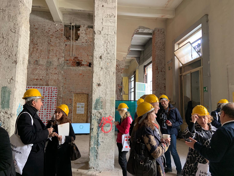 Mercato Centrale di Milano, la conferenza in cantiere | ©foto Sandra Longinotti