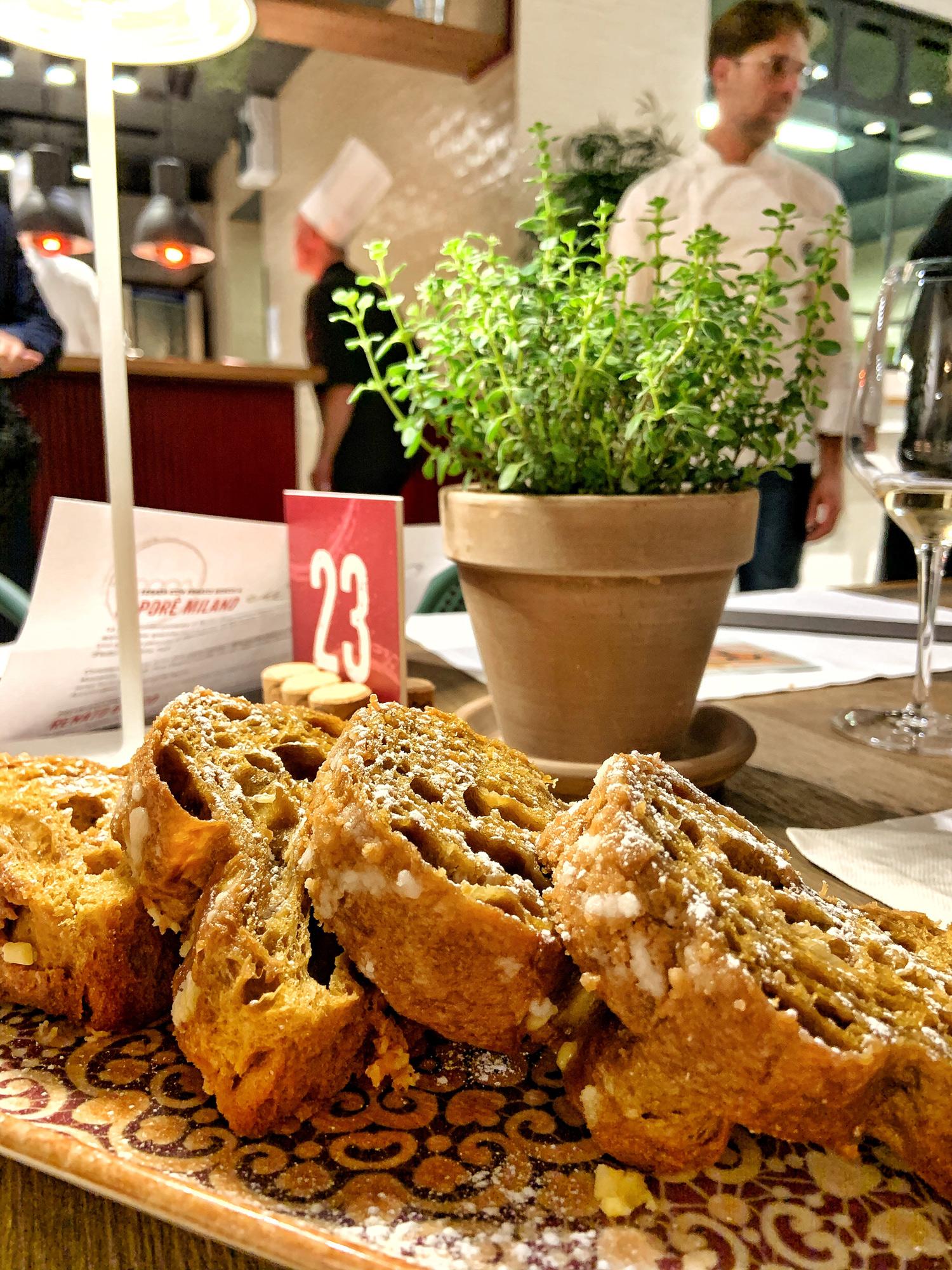 Saporè Milano: il Panettone al caffè e cioccolato bianco di Renato Bosco | ©foto Sandra Longinotti