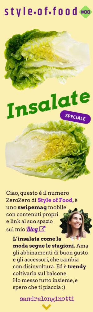 Style of Food 00 - Insalate - Sandra Longinotti speciale Blog